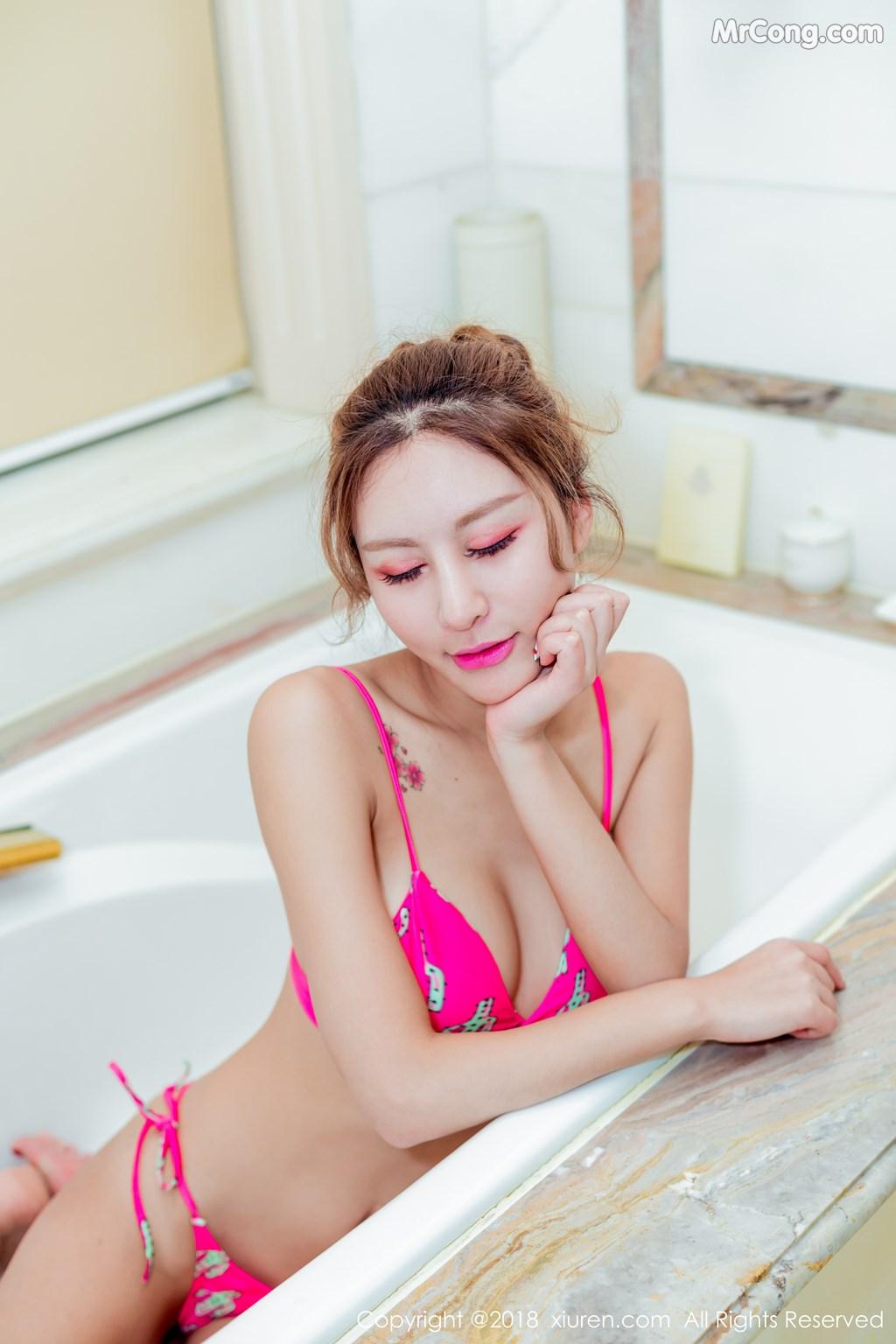 Image XIUREN-No.975-angela-MrCong.com-002 in post XIUREN No.975: Người mẫu 美汐angela (59 ảnh)