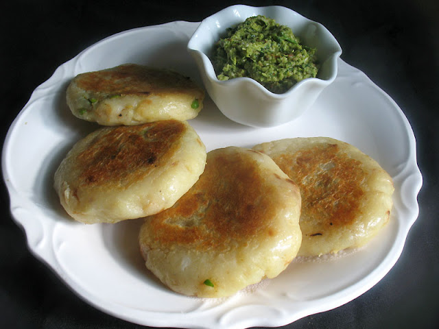 stuffed potato patties
