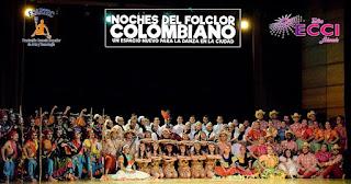 Noches del folclor Colombiano 3