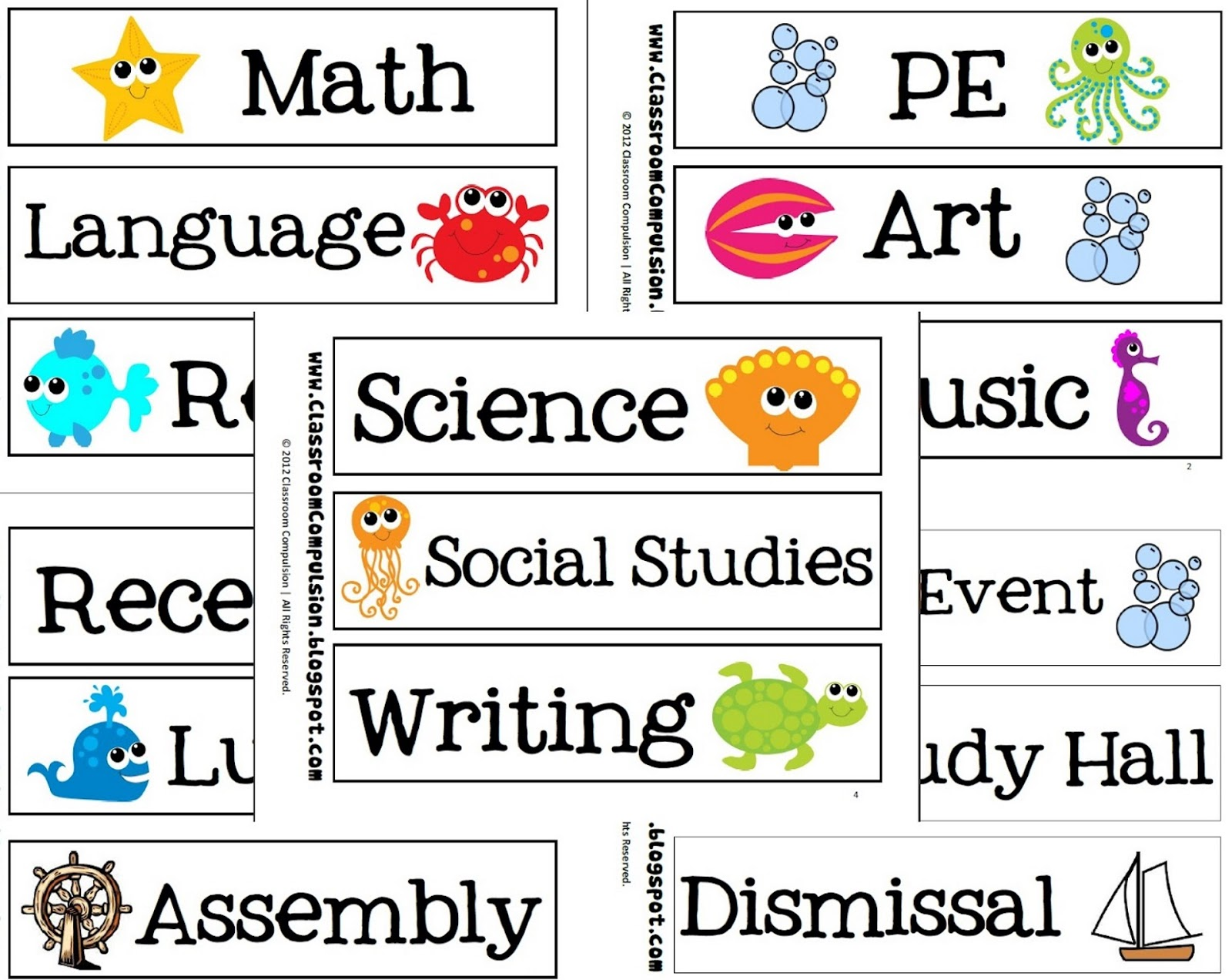 What School Subjects Do You Like