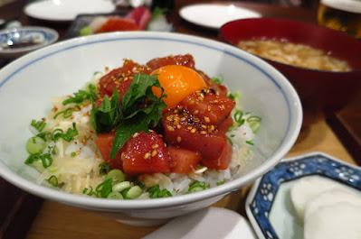 Suju Japanese Restaurant, maguro yukke don