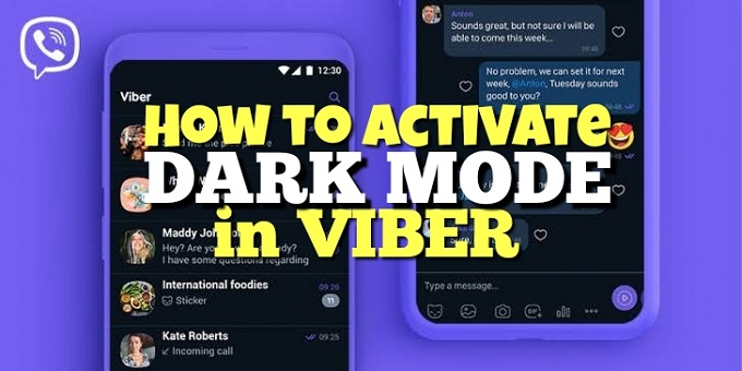 How to Activate Dark Mode in Viber Messaging App in Android