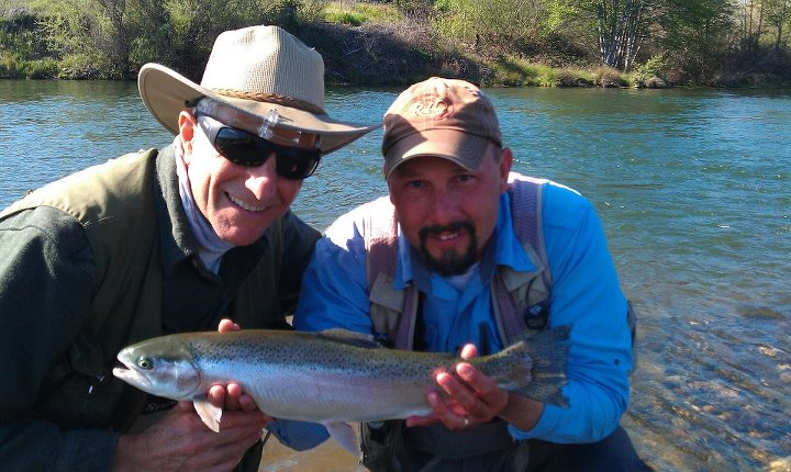 Northern california fly fishing report torn waders for Norcal fishing report