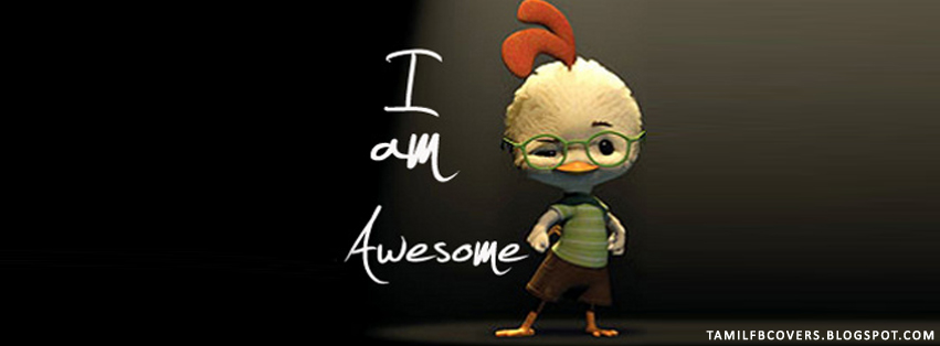 My India FB Covers: I Am Awesome