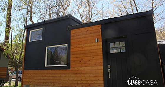 Tiny Home Designs: TINY HOUSE TOWN: Modern Tiny House (190 Sq Ft