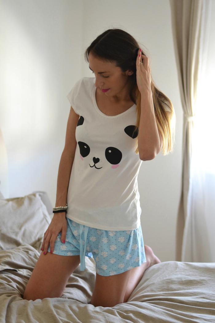 pigiama shorts maglietta