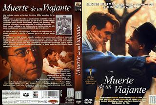 Carátula dvd:La muerte de un viajante (1985)Death of a Salesman (TV)