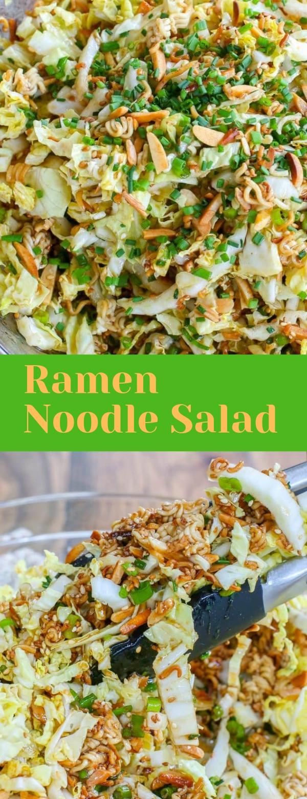 Ramen Noodle Salad #RAMEN #NOODLES #SALAD
