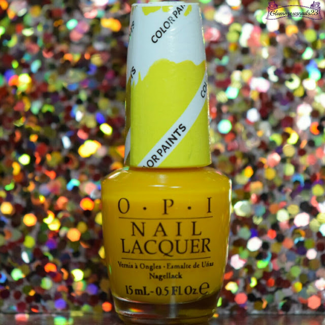 O.P.I Primarily Yellow