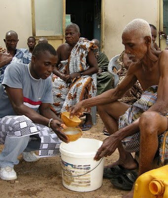 Drinking Palm Wine