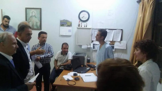 Ανδριανός σε Υπουργό Υγείας: Να επαναπροκηρυχθούν άμεσα οι τρεις συμβάσεις αγροτικών γιατρών που υπηρετούν στην Ερμιονίδα για να μην υποβαθμιστεί περαιτέρω το Κέντρο Υγείας Κρανιδίου