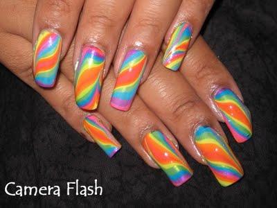 Como Pintarse las Uñas con Betas Multicolor