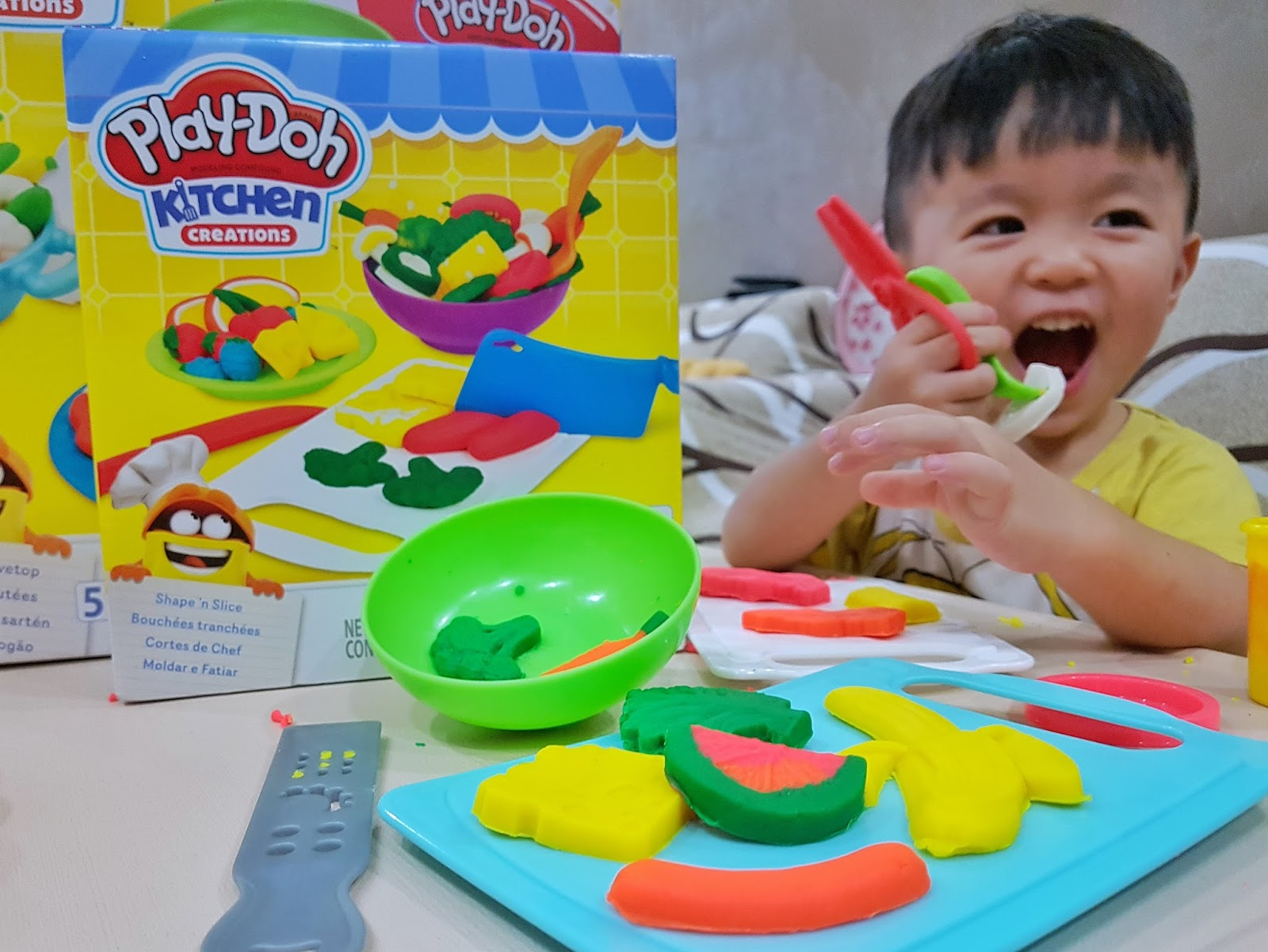 Become A Chef Junior With Play Doh