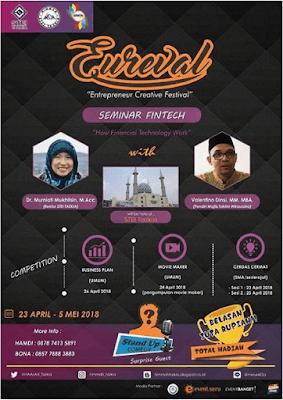 Event Entrepreneur Creative Festival 2018 STEI Tazkia Bogor