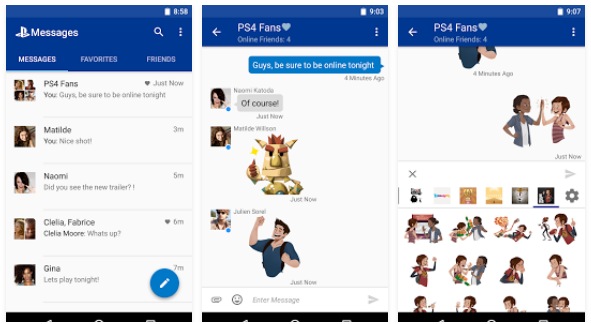 Download Sony Messenger App [PlayStation Messages] for