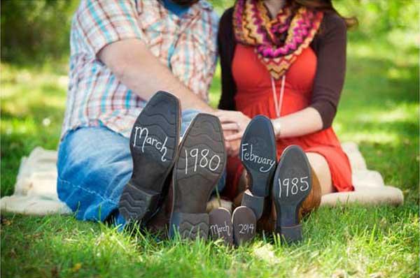 7 kreatywnych sposobów na poinformowanie przyszłego TATY o ciąży