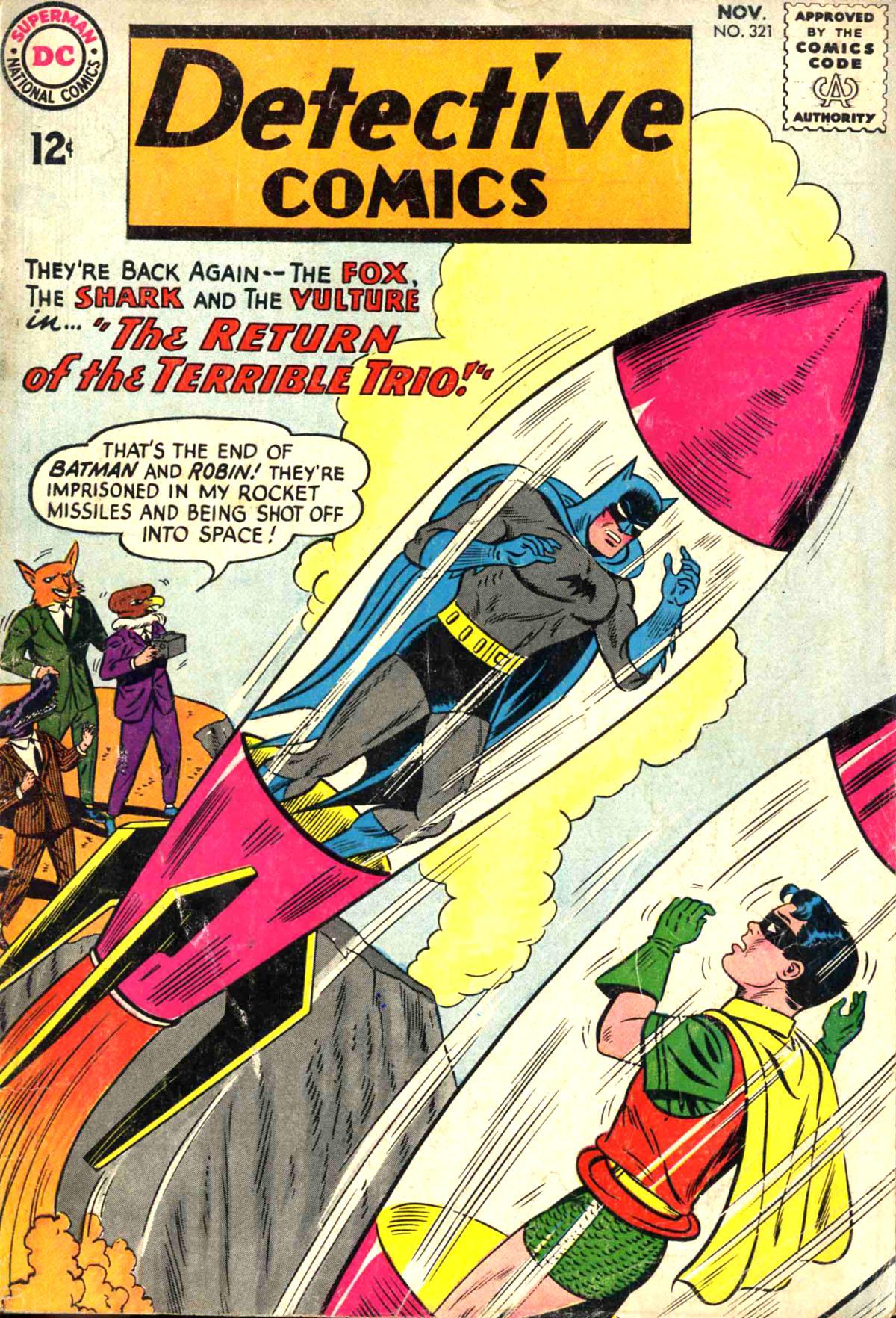 Detective Comics (1937) 321 Page 1