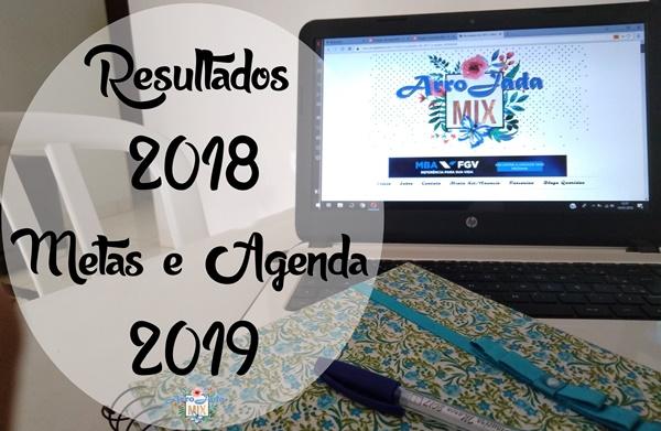 Resultados 2018 e Metas para 2019