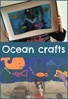 Under the sea and ocean crafts for children