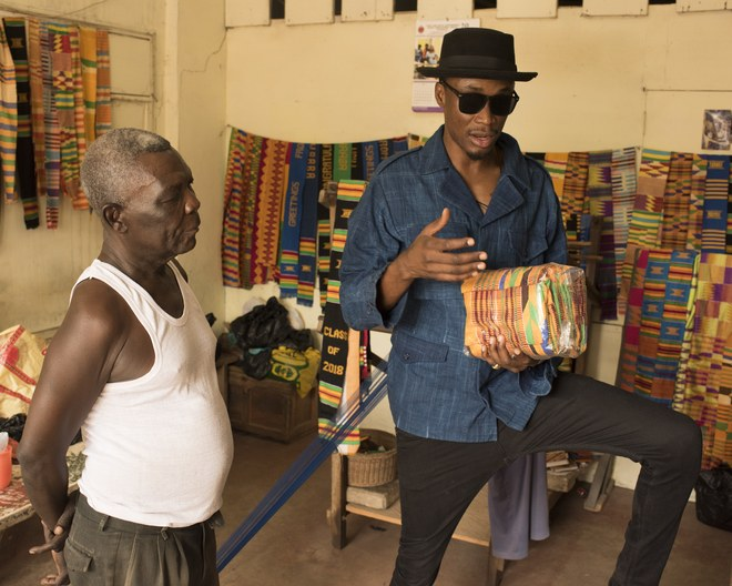 E.L feature in Vogue Magazine, talks Kente and more