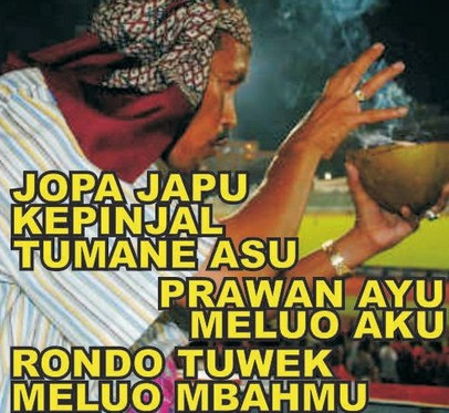 Image result for Gambar Mbah dukun