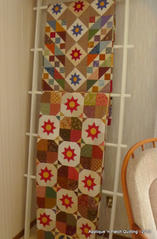 Applique N Patch Quilting Diy Quilt Ladder