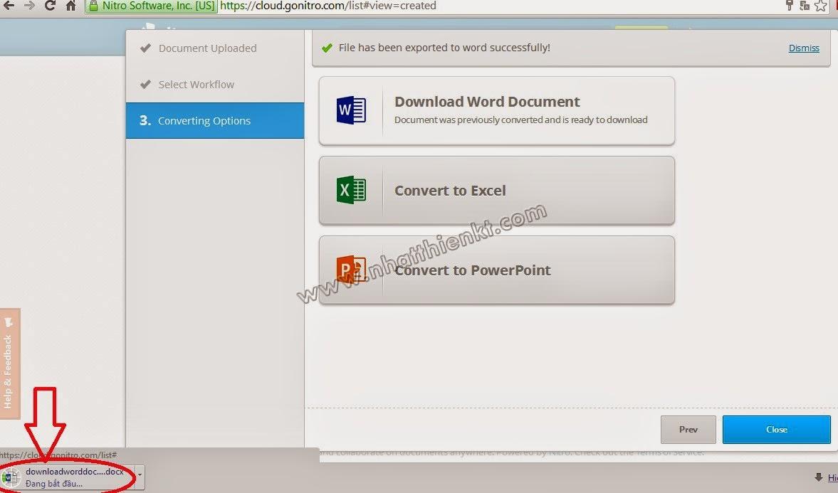 Chuyển đổi PDF sang Word, Excel, PowerPoint Tiếng Việt 100% giống bản gốc