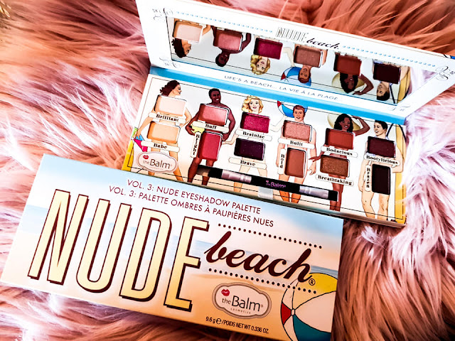 Eyeshadow Palette Nude Beach from theBalm