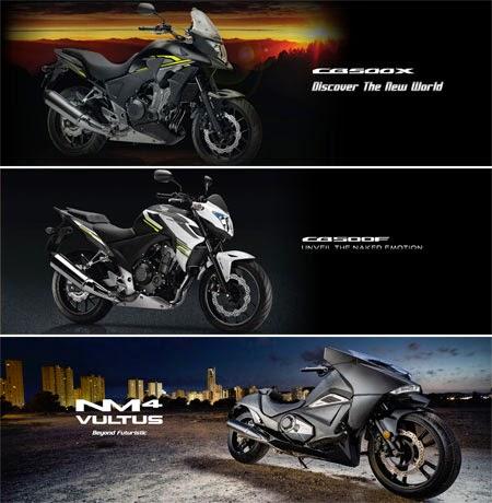 gambar moge Honda terbaru