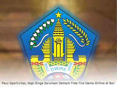 Pacu Sportivitas, Kopi Singa Salurkan Demam Free Fire Game Online di Bali