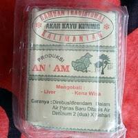 Jual Ramuan Akar Kuning Kalimantan Khas Dayak Obat Liver / Sakit Kuning.