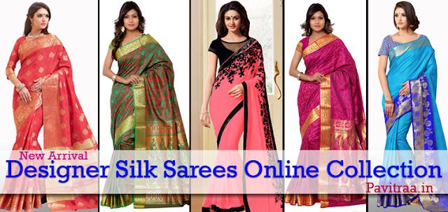 Girls Latest Fashion Trends Gallery: Designer Traditional Pure Silk ...