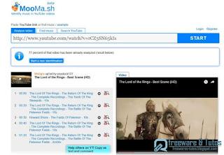 MooMa.sh : identifier les musiques des vidéos Youtube