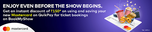 Bookmyshow Loot: Get Movie Ticket of Rs.150 @ Rs 21