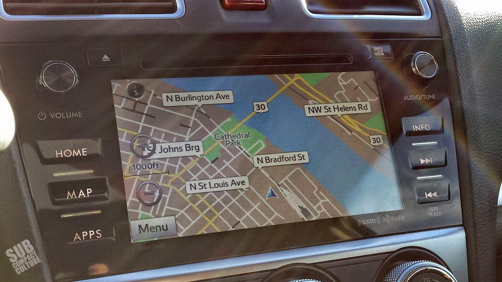 New Subaru 7.0 infotainment system