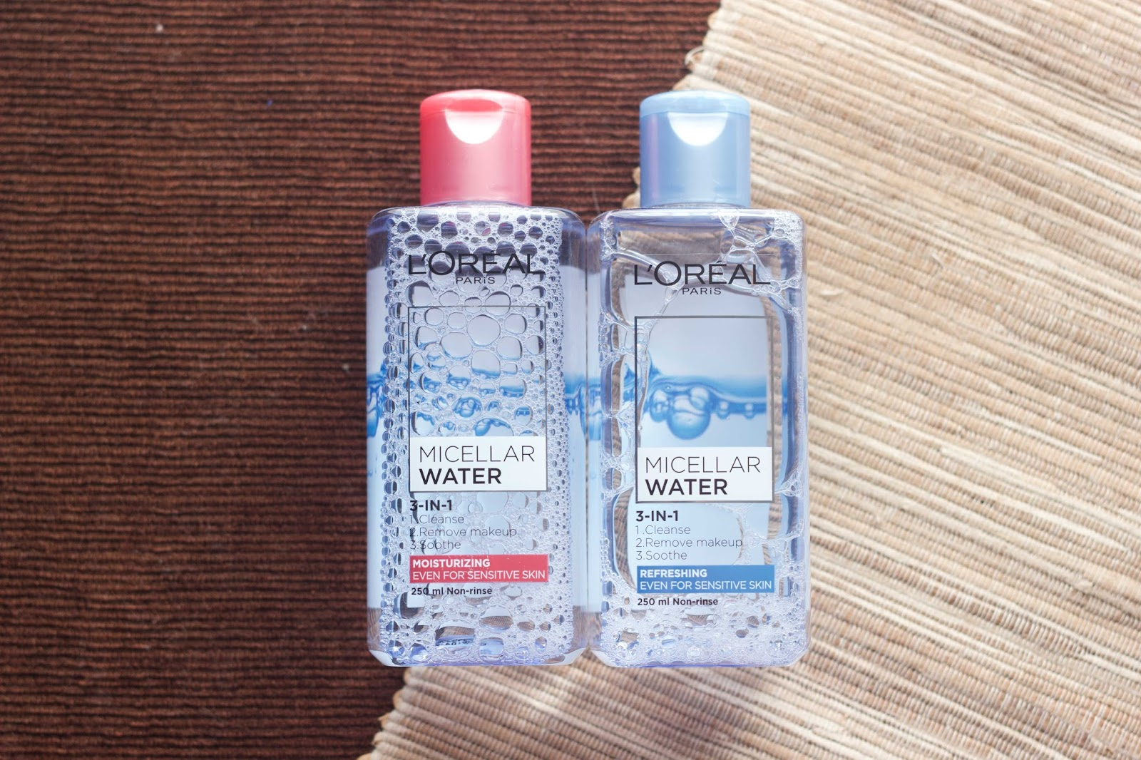 This Is Real And Me Review Loreal Paris Micellar Water L Oreal Makeup 250ml Blue