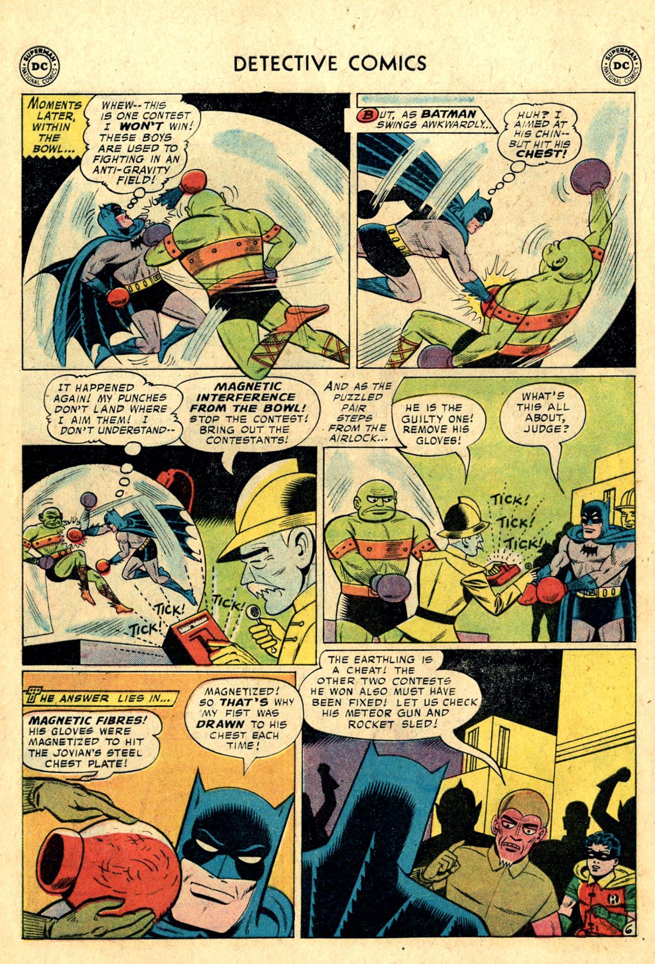 Read online Detective Comics (1937) comic -  Issue #260 - 8