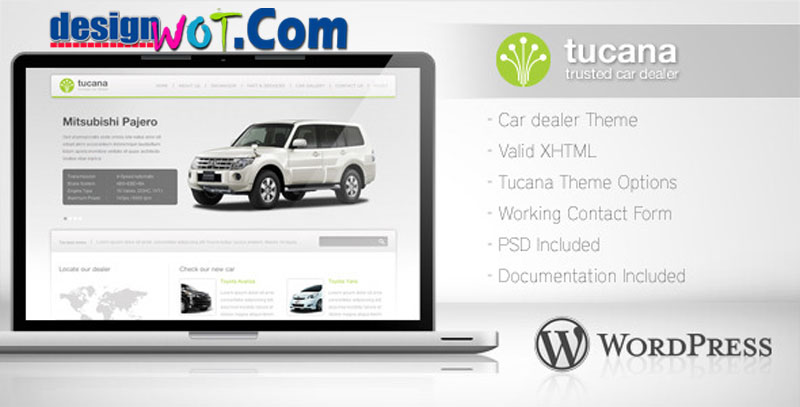 TUCANA Responsive WordPress Theme