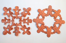 how to cut unique snowman snowflakes- fun winter paper kirigami craft for kids