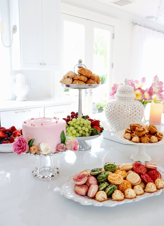 Beautiful Spring Brunch Tablescape   Cool Chic Style Fashion