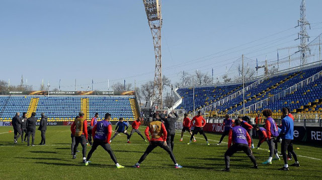 'Setan Merah' Hadapi Tangguhnya 'Benteng' Rostov