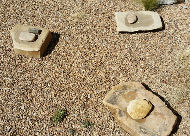 Ruins of Gran Quivira Salinas Pueblo Mission in Mountainair, New Mexico