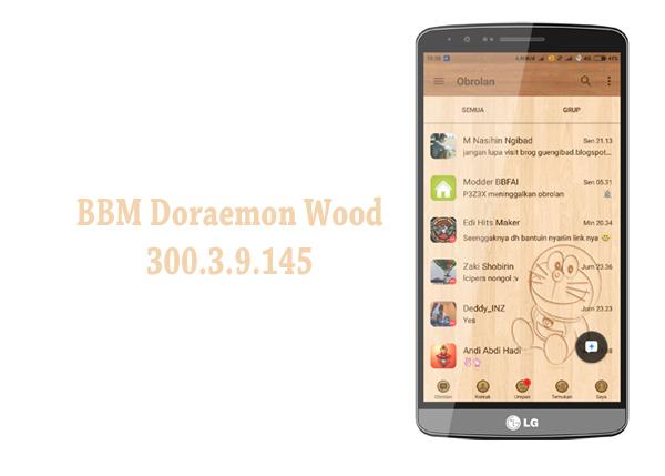 BBM Doraemon Wood