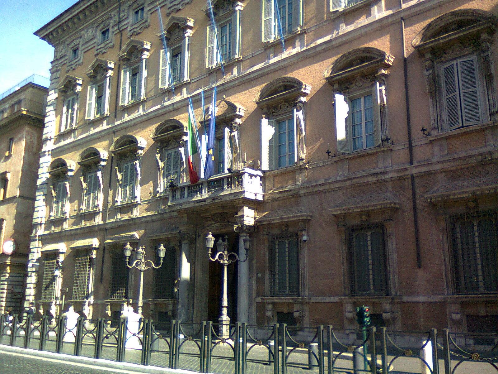 In bici per roma evviva e 39 nato un gruppo for Palazzo camera dei deputati