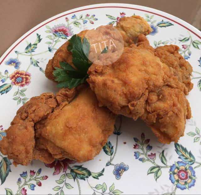 Resep ayam crispy mudah tanpa telur ala rumah makan ciwidey