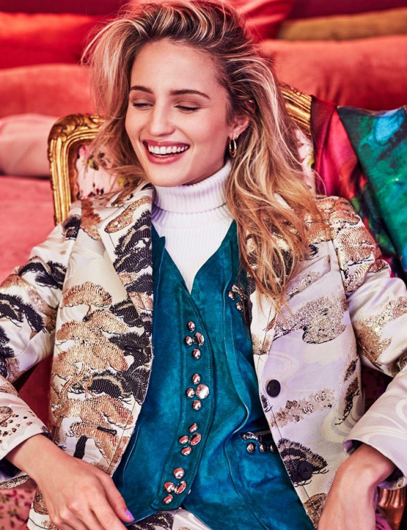 HD Photo Shoot of Dianna Agron For Harper's Bazaar Magazine Malaysia January 2018