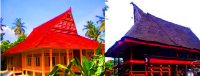 Rumah adat Maluku dinamakan Bailo, dipakai untuk pertemuan musyawarah dan upacara yang disebut seniri negeri. Rumah tersebut merupakan panggung. Atapnya besar dan tinggi terbuat dari daun rumbia, sedang dindingnya dari tangkai rumbia yang di sebut gaba- gaba.
