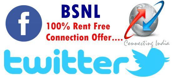 One month rent free offer for new broadband and landline customers
