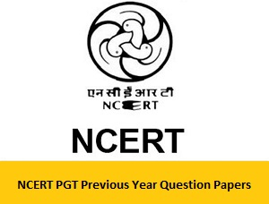 NCERT PGT Previous Year Question Papers