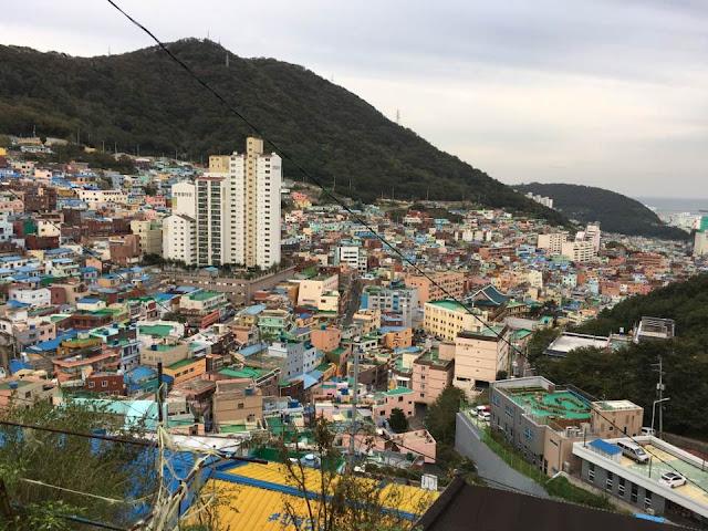 Let's go to Korea #6 : Gamcheon (감천) le village culturel et coloré à Busan